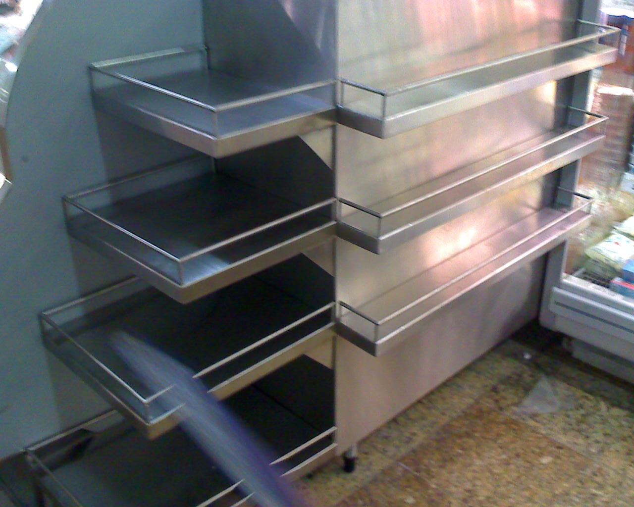 Prateleira de inox para cozinha industrial preço