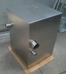 Caixa de gordura em aço inox preço