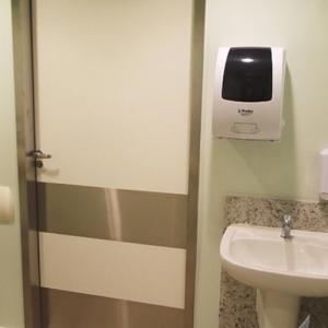 Chapa inox proteção para porta